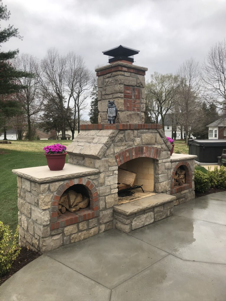 outdoor-stone-fireplace